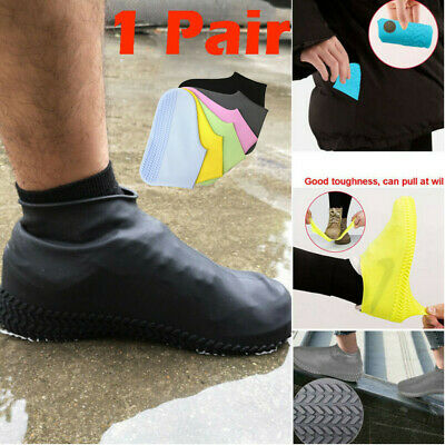 Black Waterproof Seal Skinz OverSock Shoe Cover LG