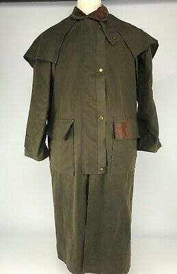 62ccd9bef AUSTRALIAN STOCKMAN'S OILSKINS Made in Australia By Feathertop Duster  Coat.XS