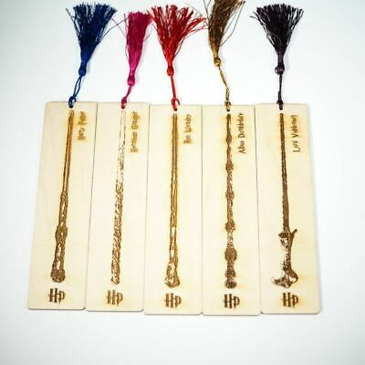 Harry Potter Wands - Bookmark Set - Personalized gift.