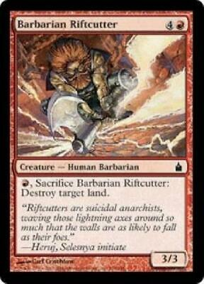 City of Guilds NM Red Common CARD ABUGames Barbarian Riftcutter FOIL Ravnica