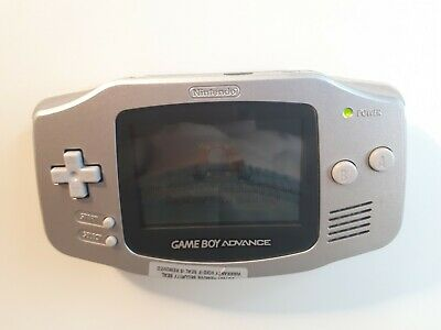 Vintage Nintendo Game Boy Advance Console - Silver - Tested & Working Condition