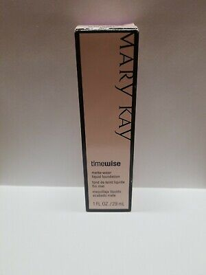 """Mary Kay Timewise Matte-Wear Liquid Foundation - """"Ivory 2"""" Full Size New in box"""