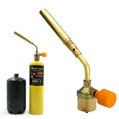 Mapp Gas Lighter Ignition Pipe Turbine Torch Propane Welding Brazing AU Stock