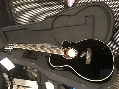 With Hard Case Super Folk Tanglewood Acoustic Guitar Tw4-bk Winterleaf