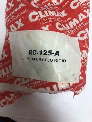 Coupling, Aluminum CLIMAX METAL PRODUCTS RC-125-A