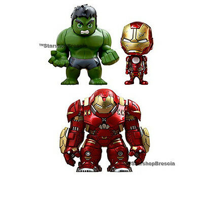 Marvel - Avengers Age Of Ultron - Cosbaby Mini Figuras 1.5 Box Set Of 3 Hot Toys