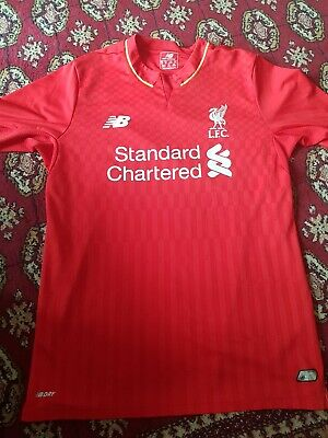 e0f86036b LIVERPOOL FC LONG Sleeved Home Shirt With Coutinho On The Back Size ...