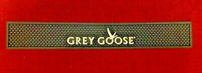 Grey Goose Vodka Dark Blue White Logo Graphic Pub Tavern Bar Rubber Spill Mat