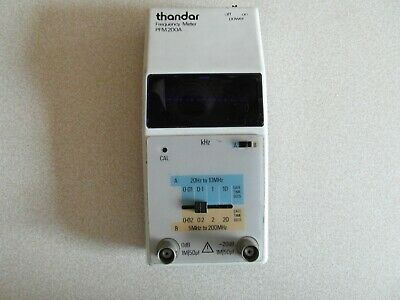 vintage digital thandar frequency metre full working order