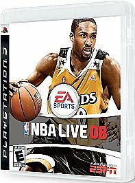 NBA Live 08 (Sony PlayStation 3, 2007)