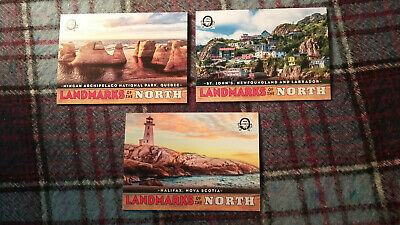 2018-19 OPC Coast To Coast  3 Card Landmarks Of The North Lot