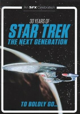 Sfx Magazine - 30 Years Of Star Trek:the Next Generation  Booklet - To Boldly Go