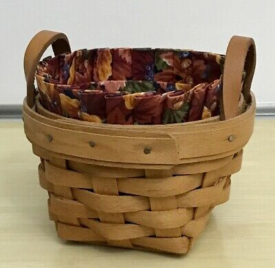 Longaberger Cilantro 2013 June Booking HH Sleigh Basket Protector #40217 NEW