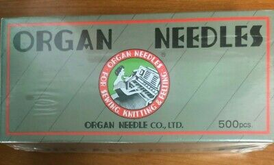 Organ needle box set; 50 sets of 10, size 100/16