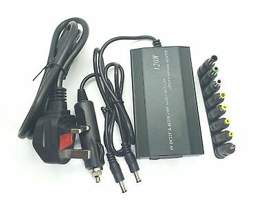 Universal Laptop Power Supply Charger 12V-24V AC/DC Adapter for HP DELL Lenovo
