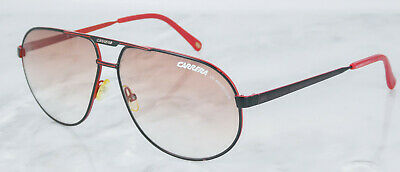 1ea9220f3241 Carrera Master 2 Aviator Sunglasses Red Black Frames Red Gradient Lens