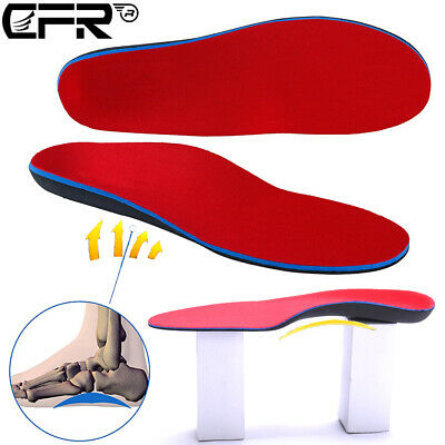 Orthotic Shoe Insoles Arch Support High Arch Foot Pads Flat Inserts Men Women