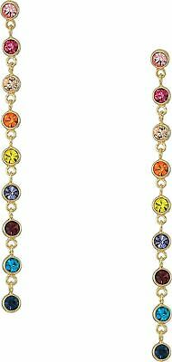"""Kenneth Jay Lane, 4"""" Inch Multi Color, Multi Pastel, Or Clear Cubic Zirconia ..."""