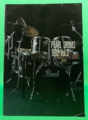 Pearl Vintage 1992 IN JAPANESE Drum & Percussion 50 Page Catalog 061029A RARE