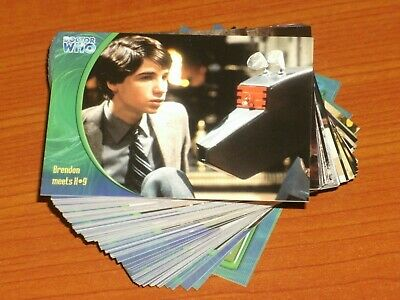 Doctor Who 'The Definitive Col' Series Three Complete Base Set 120 Trading Cards