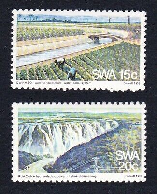 SWA Water And Electricity Supply 2v MNH SG#295-296 SC#396-397