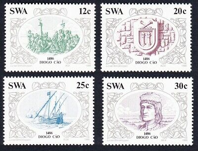 SWA Discoveries 2nd issue 4v MNH SG#455-458 SC#552-555
