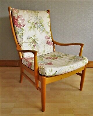 Mid 20th Century Parker Knoll Lounge Chair Model PK1016. 1 available