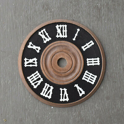 Antique Cuckoo Clock NEW Replacement Timber Face Dial Parts