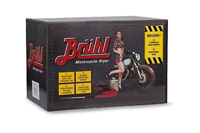 BRUHL MD1900 + Variable Temperature Power Dryer New improved design