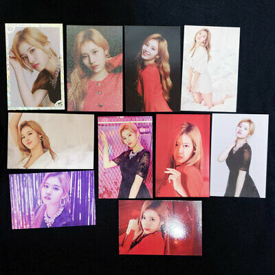 TWICE WORLD TOUR 2019 TWICE LIGHTS Official Photo Card Sana Complete 10 Set