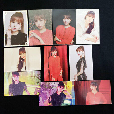 TWICE WORLD TOUR 2019 TWICE LIGHTS Official Photo Card Mina Complete 10 Set