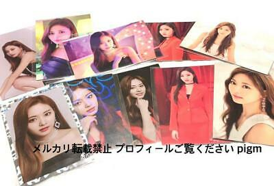 TWICE WORLD TOUR 2019 TWICE LIGHTS Official Photo Card Tzuyu Complete 10 Set