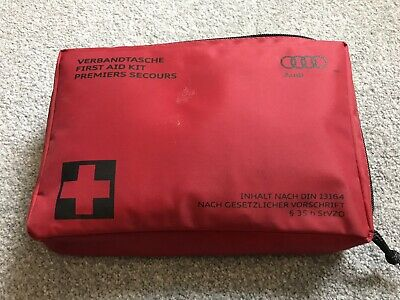Audi First Aid Kit Sealed New Never Used From A1 13164 Genuine Part Free Postage