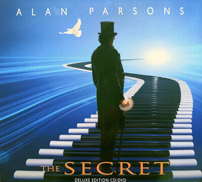 Alan Parsons The Secret Deluxe Cd Dvd Album 2019 Sealed With Hand Signed Booklet