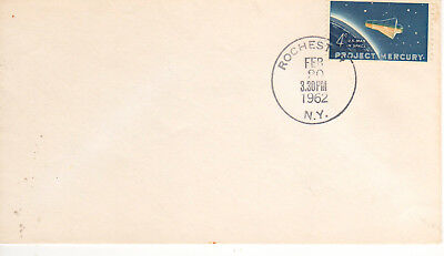 1193 4c Project Mercury February 20 1962 FDC First Day Rochester New York
