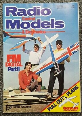 Radio Control Models And Electronics Magazine June 1979 With Free Plan