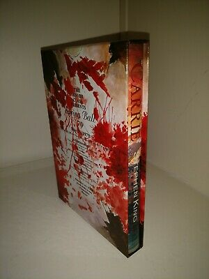 CARRIE Stephen King LTD ANNIVERSARY EDITION. UK. PS PUBLISHING signed #359 VFN+