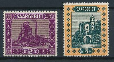[53074] Saar 1921 lot 2 good MNH Very Fine stamps $37.5