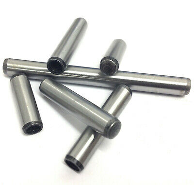 6mm 10mm EXTRACTABLE DOWEL Pins - Hardened & Ground - Dowels Pin DIN 7979D