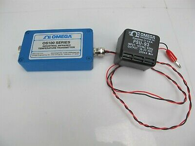 Omega OS100 Industrial Infrared Temperature Transmitter with PSU-93