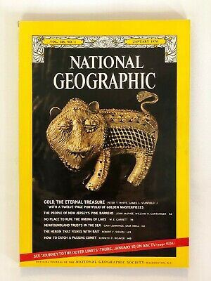 National Geographic - January 1974 - Vol. 145, No. 1