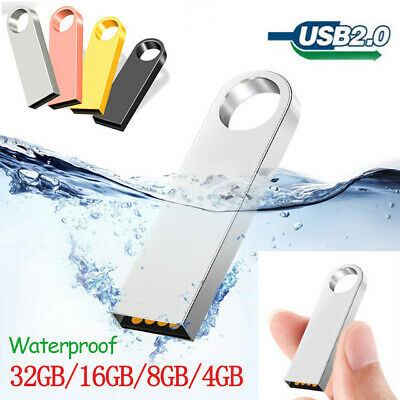 Metal Ring USB 2.0 Flash Drive 32GB Memory Stick Pen drive On Key Thumb PC lot