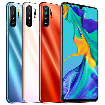 30 Pro Smartphone 6.3'' 4GB + 64GB For Android OS 8.0 Face Fingerprint Unlocked