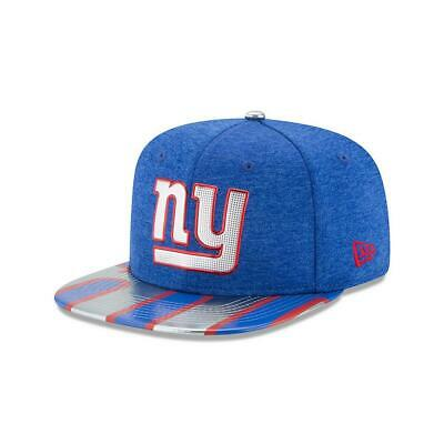new products 8a8a5 dc6ba New York Giants NY Hat New Era 2017 NFL Draft On Stage 9Fifty Snapback Cap