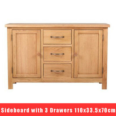 Modern Wood Sideboard Table Cupboard Large Drawer TV Cabinet Home Furniture NEW