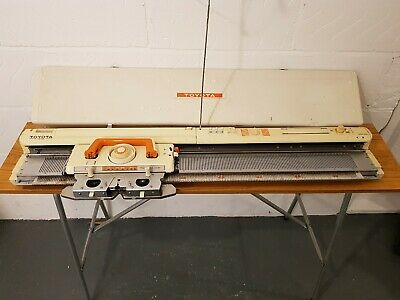 Toyota Ks901 Punchcard Knitting Machine **Great Condition**