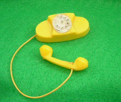 Vintage 60s Tressy Tammy doll YELLOW TELEPHONE - also suit Sindy Barbie