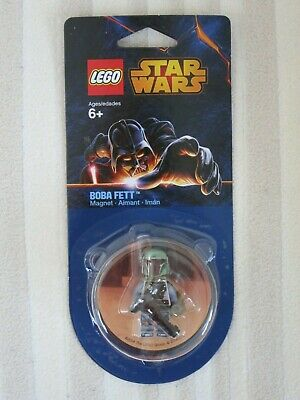 Boba Fett Magnet Lego Star wars - 851317 2014 with leg decoration