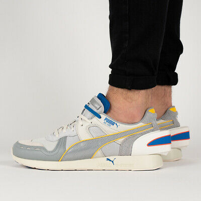 PUMA RS X ADER Error Mens White Mesh & Suede Athletic Lace