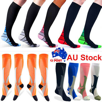CFR Medical Compression Socks 15-30mmHg Support Stockings Travel Flight Socks AU
